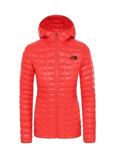 The North Face Kadın Mont Eco Thermoball Hoodie Nf0A3Ygn15Q1 Kırmızı